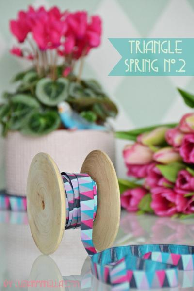"1,60 EUR/m Webband ""Triangle Spring No.""-2"