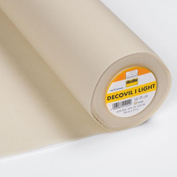 Decovil light Vlieseline Bügeleinlage 90 cm breit